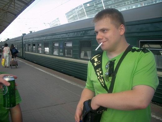Отучить курить в подъезде