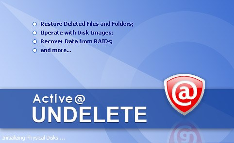 Active undelete data recovery