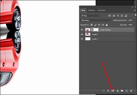 Как легко сделать зеркальное отражение изображения в фотошопе?