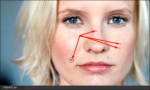 Как убрать прыщи на лице на фото в фотошопе разными способами