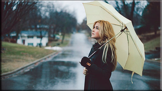 Как легко сделать эффект дождя в фотошопе различными способами?