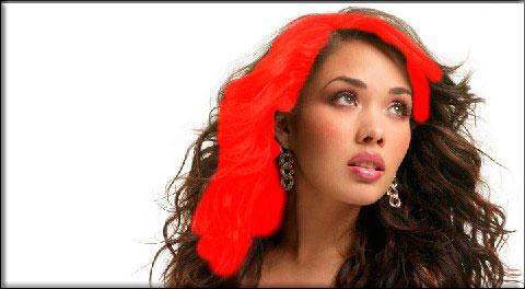 Как можно легко менять цвет волос в фотошопе на ваш вкус с помощью простого способа?