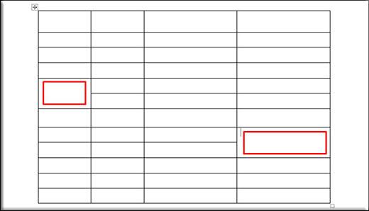Как можно легко начертить таблицу в ворде несколькими способами?