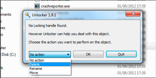 Unlocker for windows