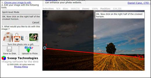 Как легко выровнять горизонт в фотошопе и не только, если он завален?