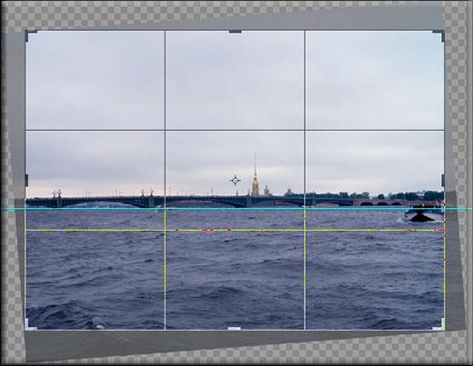 Использование рамки в фотошопе