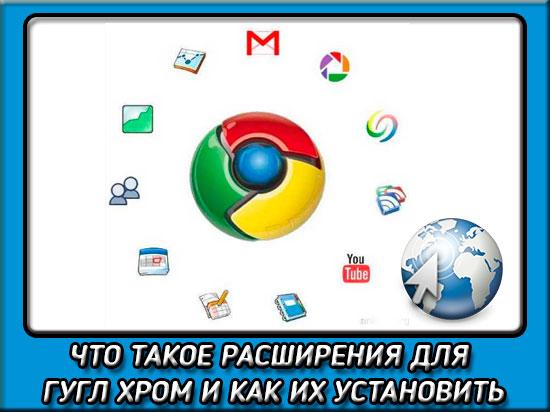 Как установить расширение в гугл хром