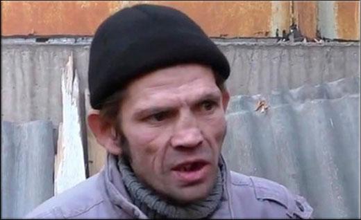 Константин Ступин втирает дичь