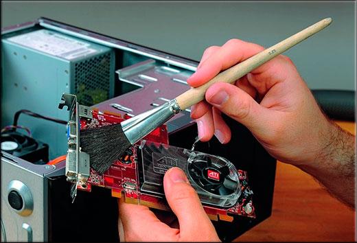 Как почистить компьютер без пылесоса