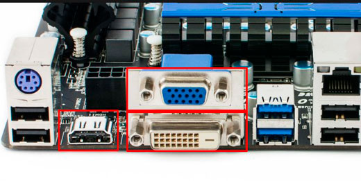 Что делать, если нет сигнала на мониторе при включении компьютера?