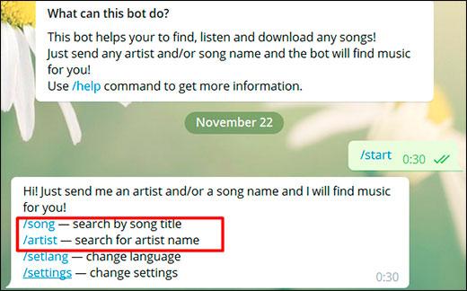 Как можно слушать музыку в телеграмме на любом устройстве?