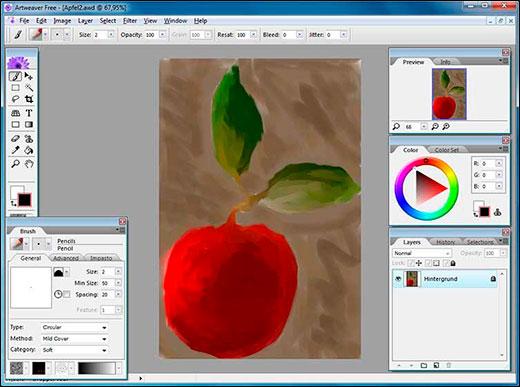 Лучшие графические программы для рисования на компьютере