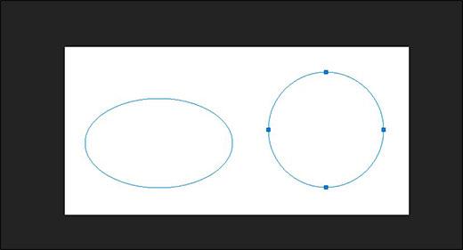 Как нарисовать круг в фотошопе нужного диаметра с заливкой, обводкой и без них
