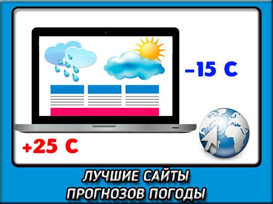 Лучшие сайты прогнозов погоды