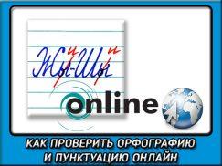 Как проверить орфографию и пунктуацию онлайн несколькими способами?